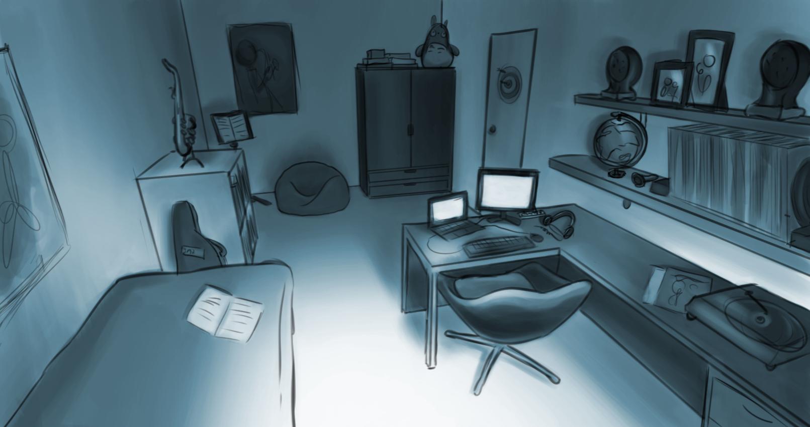 justin's room