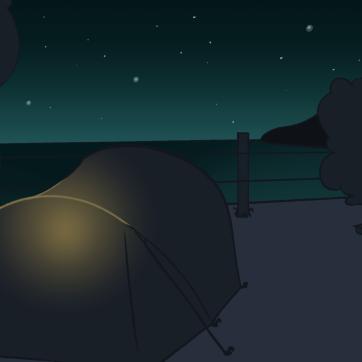 tent night lamp